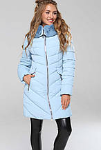 Куртка зимняя женская Джойс св.голубой