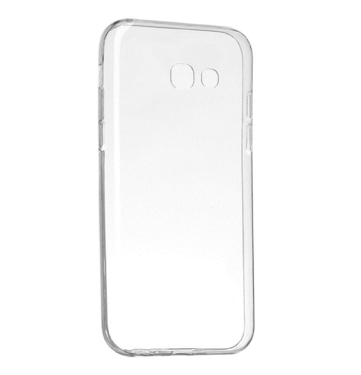 Силиконовый чехол DIGI TPU на Samsung A5 (2017) SM-A520 Clean Grid Transparent