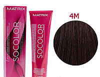 Соколор Бьюти, стойкая крем-краска для волос, оттенок 4M, 90 мл
