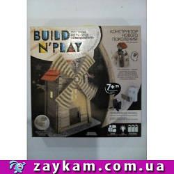 """Конструктор нового покоління """"BUILDNPLAY"""", Млин, в коробці 29*29*6см"""
