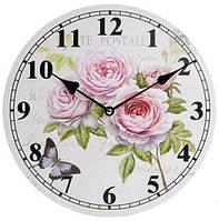 """Годинники настінні """"Ufficio Postale Rose"""" Ø29см"""