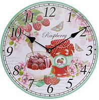 """Годинники настінні """"Raspberry"""" Ø29см"""