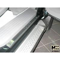 NataNiko Накладки на пороги для TOYOTA Hilux VII '04- пікап 4d (Комплект 4 шт.) Standart, фото 1