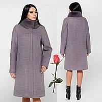 Женское зимнее пальто F 77990  Серый, фото 1