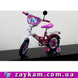Велосипед 2-х коліс 12 171202 1шт з дзвінком, дзеркалом,без ручного гальма