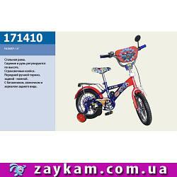 Велосипед 2-х коліс 14 171410 1шт з дзвінком,дзеркалом,руч.гальма
