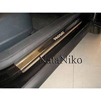 NataNiko Накладки на пороги для VOLKSWAGEN Passat CC I '08-16 (Комплект 4 шт.) Standart, фото 1
