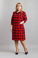 Платье Рубашка клетка №2, фото 1