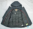 Куртка зимняя для мальчика Mariuzs серая (QuadriFoglio, Польша), фото 10