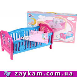Ліжечко для ляльок, в коробці 52*31*8см, ТМ Технок, Україна