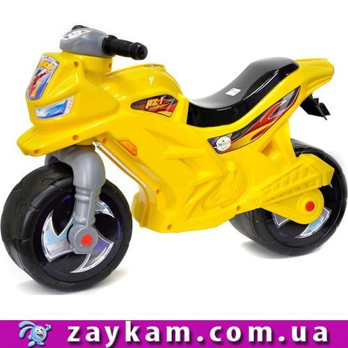Мотоцикл 2-х колёсный лимонный