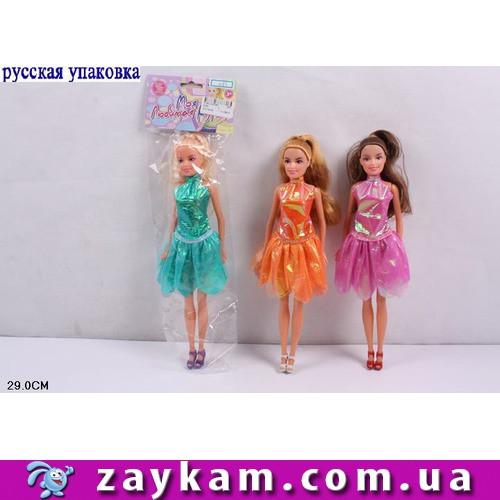 """Кукла """"Кети"""", 3 вида, в полиэтилене 29 см /240-4"""