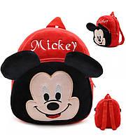 Красивый рюкзак для дошкольников мальчиков и девочек с мультяшным принтом «Микки Маус»(красный)