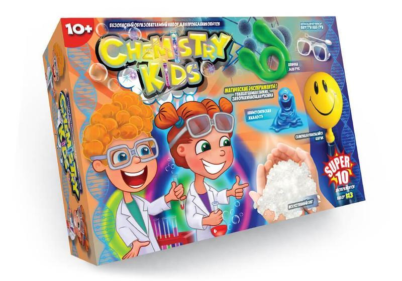 Набор для проведения опытов Chemistry Kids (CHK-01-03)