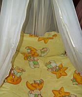 Детский постельный GOLD, 4 предмета, Бежевый