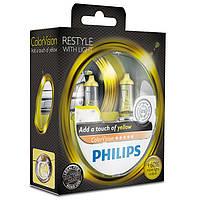 Philips ColorVision (+60% света) - Лампочки автомобильные зеленый