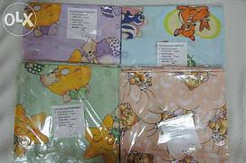 Комплект детского постельного белья 5 в 1 персиковый