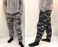 Штаны камуфляжные трикотажные под манжет - зимний вариант
