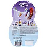 Адвент календар Milka Snow Mix Adventskalender веселий сніговик, 235 грам, фото 3