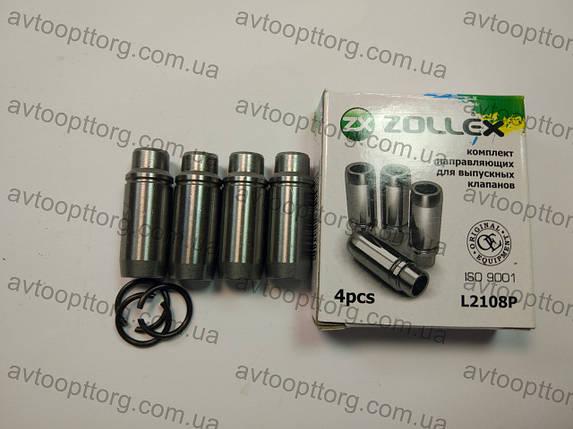 Направляющие клапанов  ВАЗ 2108, 2109, 21099 выпуск ZOLLEX (L2108P), фото 2