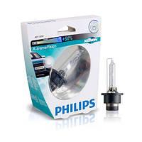 Philips X-tremeVision (+50% света) - Лампочки автомобильные ксеноновые (штатные) D2S