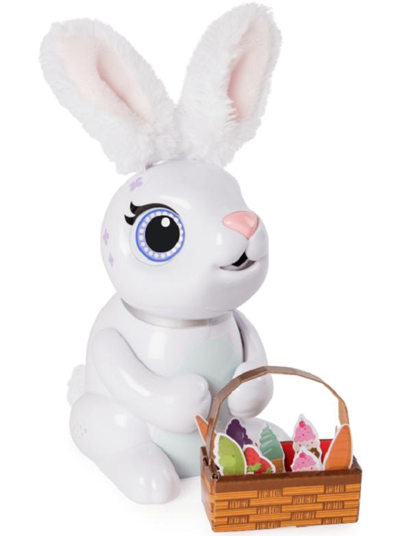 ZOOMER: интерактивный кролик Хрумчик SM14435/2544