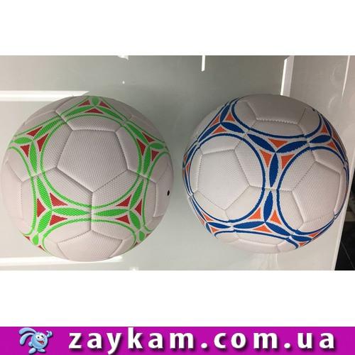 М'яч футбол FB1719 30шт розмір №5, PU 400 грам