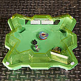 Зеленая арена и Бейблейд Эволюция Волтраек V3 Сатомб S3 Beyblade Burst Evolution Star Storm Battle Set, фото 4