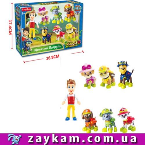 Набір героїв LQ2029 в коробці 27517,5 см