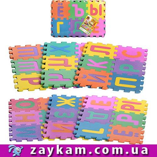 Килимок-пазл M0378 російський алфавіт 36шт. 45*31см EVA /20