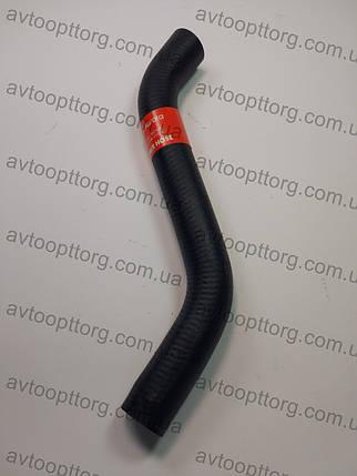 Патрубок радіатора ваз 2108, 2109, 21099 AURORA верхній, фото 2