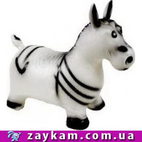 Стрибун гумовий зебра, 1200 g, 60*30см