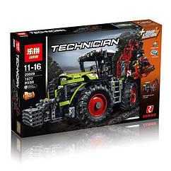 "Конструктор Lepin Technicain 20009 (аналог Lego Technic 42054) ""Трактор CLAAS XERION 5000 TRAC VC"", 1977 деталей"