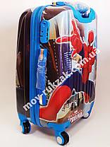 """Детский чемодан дорожный «Josef Otten» Человек Паук 20"""" фотопечать двусторонняя, фото 2"""