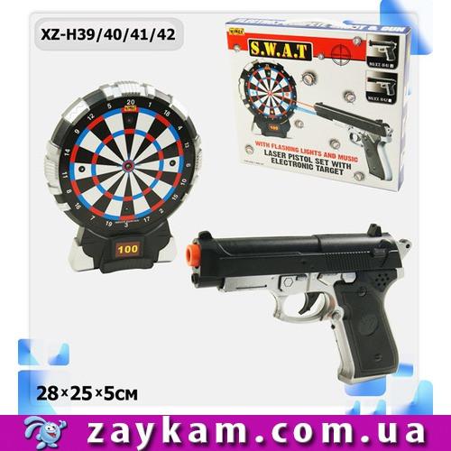 Тир батар XZ-H39 42 XZ-H39 404142 мішень, пістолет, в коробці 28 25 5 см
