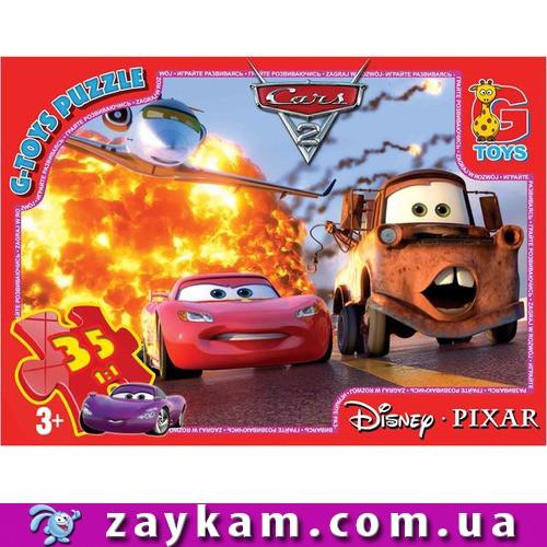 "Пазли ТМ ""G-Toys"" із серії ""Тачки"", 35 елементі"