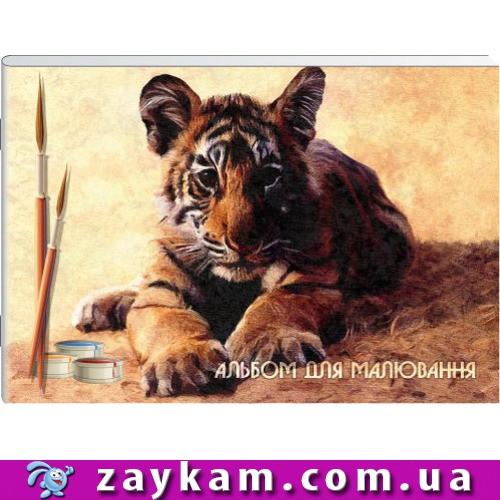 Альбом для малювання на скобі 24 арк. 120 гм A4 АА4224