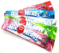 AirHeads Конфеты поштучно 6 вкусов Bars Chewy Fruit Candy Variety Pack Party Halloween 90 Count, фото 1