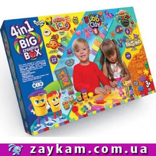 """Творчество тесто """"4в1 BIG CREATIVE BOX"""" /4"""