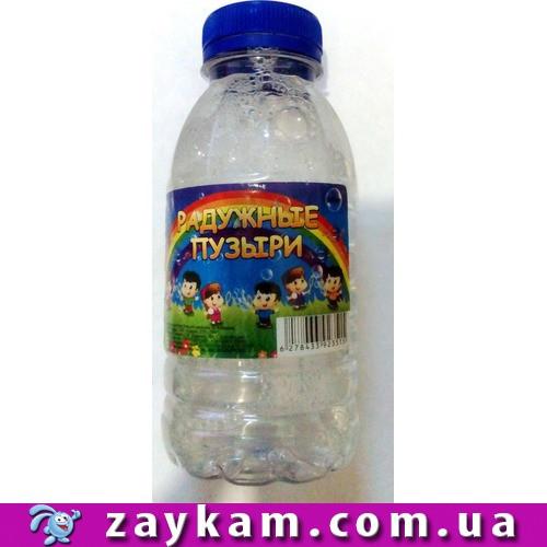 Заправка для мильных пузырей FUNNY BUBBLES 300ml
