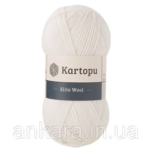Пряжа Kartopu Elite Wool К010