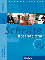 Schritte international 3 Kursbuch + Arbeitsbuch mit Audio-CD zum Arbeitsbuch und interaktiven Übungen