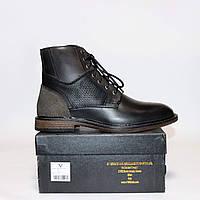 941d17699 Мужские зимние ботинки Versace оригинал Италия натуральная кожа мех 42
