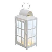 Фонарь декоративный Jumi с освещением 10 LED, 26 х 13,5 х 13,5 см
