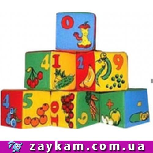 Набір кубиків. 6 Математика42