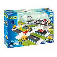 """Іграшковий набір Wader Аеропорт""""Kid Cars 3D"""" 53350"""