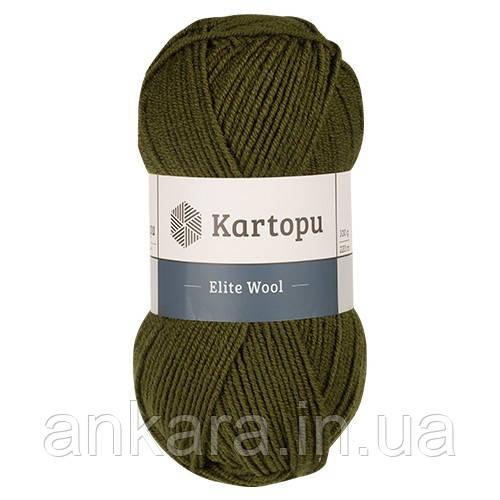 Пряжа Kartopu Elite Wool К410