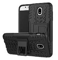 Противоударный двухслойный чехол Shield для Samsung Galaxy J5 (2017) SM-J530 Black
