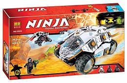 """Конструктор Bela Ninja 10523 (аналог Lego Ninjago 70588) """"Внедорожник титанового ниндзя"""" 362 детали"""