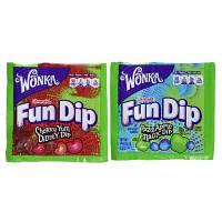 Nestle Wonka Конфеты с присыпкой 2 в 1 поштучно 2 вкуса Link-M-Aid Fun Dip Fun Size Assorted Candy Pack, фото 1